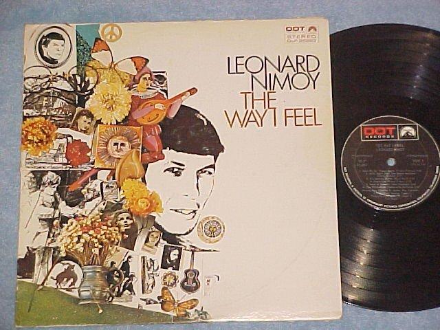 LEONARD NIMOY--THE WAY I FEEL--Stereo 1968 LP-Star Trek