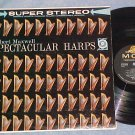 ROBERT MAXWELL-SPECTACULAR HARPS-NM/VG++ Stereo 1960 LP