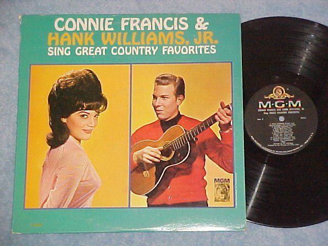 CONNIE FRANCIS&HANK WILLIAMS, JR SING COUNTRY FAVORITES