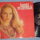 BAMBI McCORMICK-Self Titled NM/VG++ 1968 LP--Metromedia
