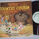 COUNTRY COUSIN--1959 Disney Sdk LP--Sterling Holloway