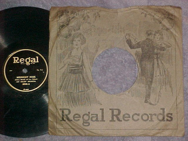 78-ROY COLLINS' ORCHESTRA-MIDNIGHT ROSE-1923-Regal 9528