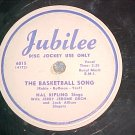 WL Promo 78-HAL KIPLING--THE BASKETBALL SONG--1952--VG+