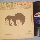 THE SUPREMES--WE REMEMBER SAM COOKE--VG+ 1965 Motown LP