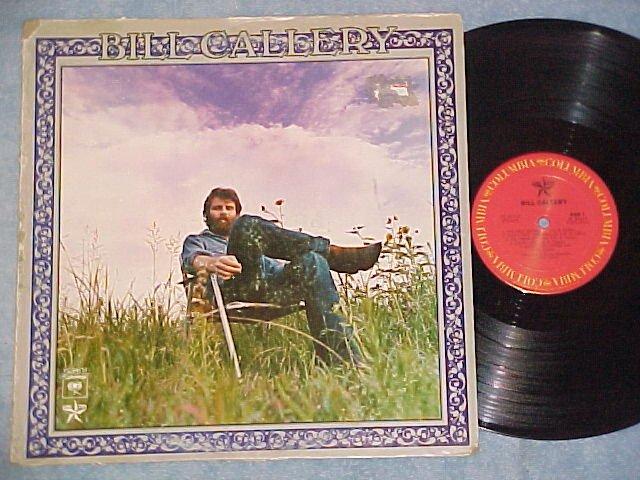 BILL CALLERY-s/t 1976 Stock Copy LP--Columbia/Lone Star