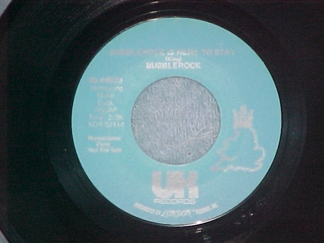 NM Promo 45-BUBBLEROCK-I CAN'T GET NO SATISFACTION-1974