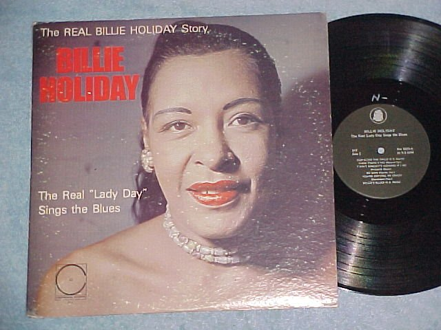 BILLIE HOLIDAY--THE REAL LADY DAY SINGS-Continental 211