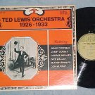 TED LEWIS' ORCHESTRA--1926-1933--NM/VG++ Biograph LP