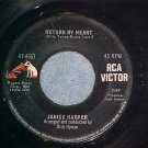 45-JANICE HARPER-RETURN MY HEART-'65-RCA Victor 47-8557