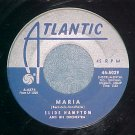 45-SLIDE HAMPTON-MARIA/SPANISH FLIER-1960-Atlantic 5029