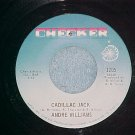 VG++ 45-ANDRE WILLIAMS-CADILLAC JACK-1968--Checker 1205
