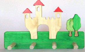 C112050902 - Children's Clothes Rack - Castle