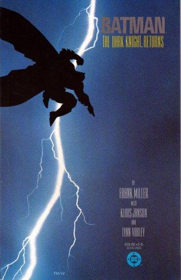 BATMAN THE DARK KNIGHT RETURNS #1 3rd PRINT