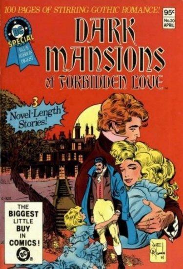 DC SPECIAL BLUE RIBBON DIGEST #20 � DARK MANSIONS OF FORBIDDEN LOVE