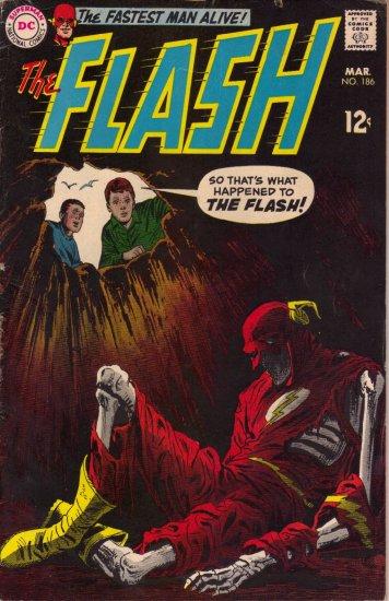 Flash vol. 1 #186