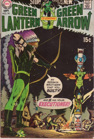 GREEN LANTERN/GREEN ARROW vol. 1 #79