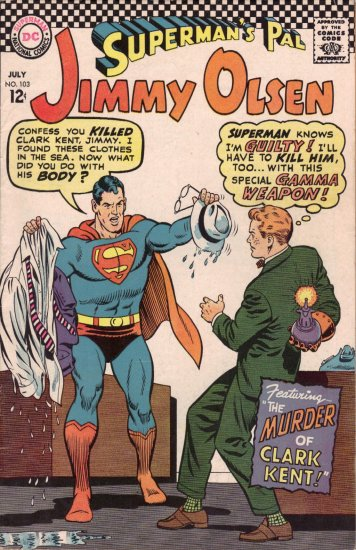SUPERMAN�S PAL JIMMY OLSEN #103