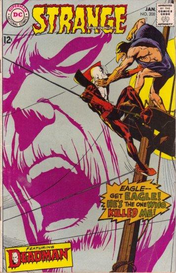 STRANGE ADVENTURES vol. 1 #208