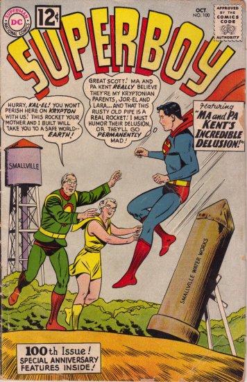 SUPERBOY vol. 1 #100