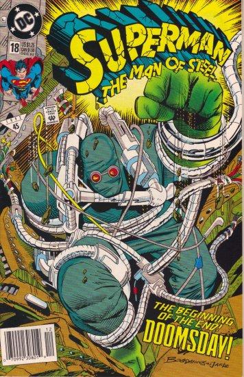 SUPERMAN MAN OF STEEL #18