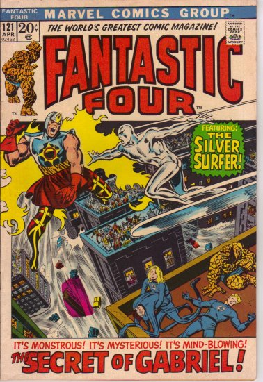 FANTASTIC FOUR Vol 1 # 121