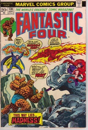 FANTASTIC FOUR Vol 1 # 138