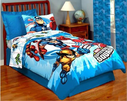 Marvel Crib Bedding Set
