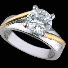Lds Sterling Silver Ring #4135