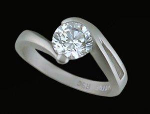 Ladies Cubic Zirconia Fashion Ring #349