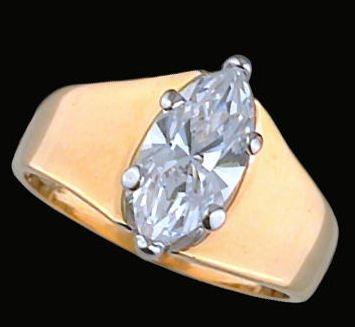 Ladies Cubic Zirconia Fashion Ring #17