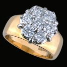 Ladies Cubic Zirconia Fashion Ring #304