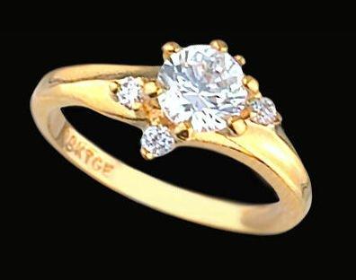 Ladies Cubic Zirconia Fashion Ring #338