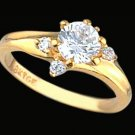 Ladies Cubic Zirconia Fashion Ring #338