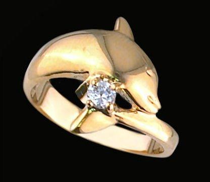 Ladies Cubic Zirconia Fashion Ring #355