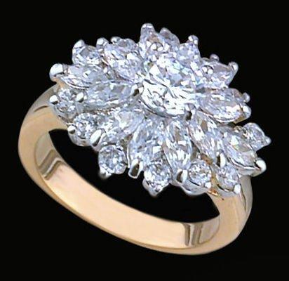 Ladies Cubic Zirconia Fashion Ring #364