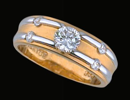 Lds Cubic Zirconia Fashion Ring #371