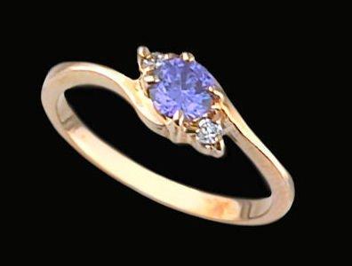 Lds Cubic Zirconia Fashion Ring #393