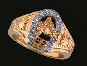 Lds Cubic Zirconia Fashion Ring #413