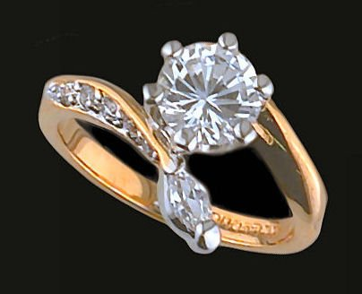 Lds Cubic Zirconia Fashion Ring #421
