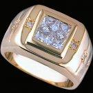Gentleman's Cubic Zirconia Fashion Ring #2257