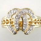 Gentleman's Cubic Zirconia Fashion Ring #2303