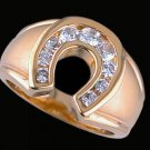 Gentleman's Cubic Zirconia Fashion Ring #2242