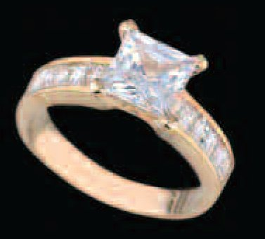 Lds Cubic Zirconia Fashion Ring #426