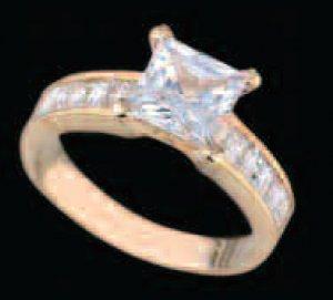 Lds Cubic Zirconia Fashion Ring #426