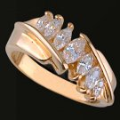 Lds Cubic Zirconia Fashion Ring #434