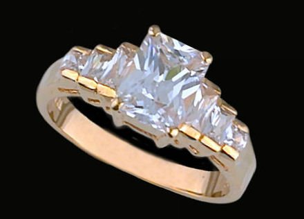 Lds Cubic Zirconia Fashion Ring #453