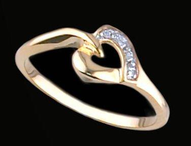 Lds Cubic Zirconia Fashion Ring #458