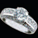 Lds Cubic Zirconia Fashion Ring #479