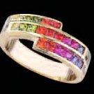 Lds Cubic Zirconia Fashion Ring #489