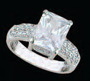 Lds Cubic Zirconia Fashion Ring #480
